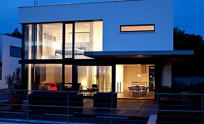 archiplan GmbH wohnkubus in exklusiver ruhiger lage