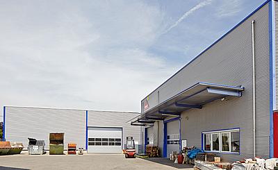 archiplan GmbH hallenerweiterung eines fachbetriebes