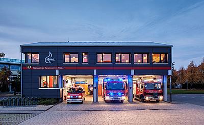 archiplan GmbH feuerwehrgerätehaus in altdorf